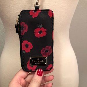 kate spade Bags - Kate Spade Poppy Landyard and matching purse